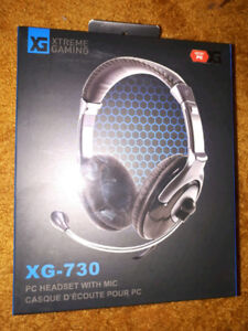 Gaming Headphones XG-730, Almost New, $20