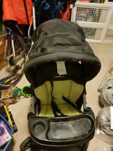 Baby trends sit and stand stroller
