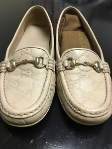 Gucci rose grey shoe, size 36/6, like new