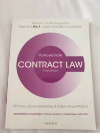 Concentrate Contract Law, 3rd Edition