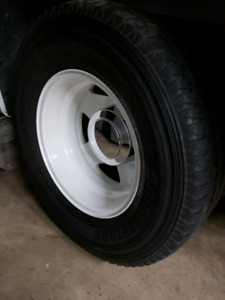 2000 Ford f350 dually wheels and tires package