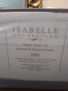 100% Egyptian Cotton 1000TC King Size Duvet Cover