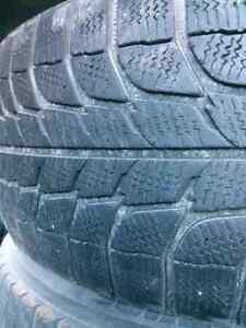 Set of 4 Michelin 245/70R16 tires on rims Windsor Region Ontario image 2