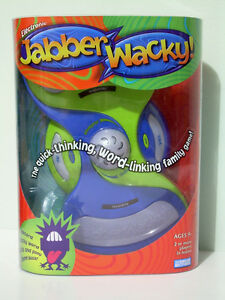 Electronic Jabber Wacky - Competitive Word Association Game
