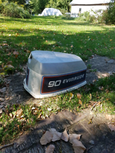 L/F late 70s early 80s Evinrude power head