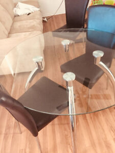 DINNING TABLE SET / 3 PIECE SOFA/ BED