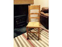 French Oak Farmhouse Chairs