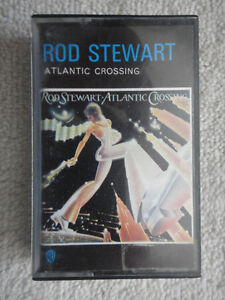 Rod Stewart - Atlantic Crossing pre-recorded audio cassette tape