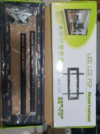 TV WALL BRACKET MOUNT SLIM FOR 32 40 42 50 55 60 70 INCH 3D LCD LED