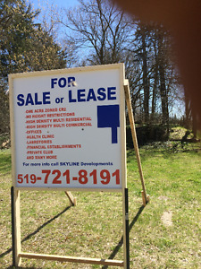 FOR SALE, OR, LEASE ,1, ACRE LAND, ZONED, HIGH DENSITY MIXED USE