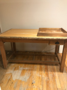 Old School Architect/Artist's drafting table