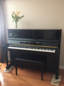 "Yamaha T121 48"" professional collection upright piano"