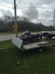 Formia 600 triple and double sled trailer Stratford Kitchener Area image 3