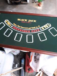 Man cave gambling board