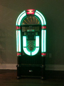 JUKE BOX WITH STAND