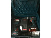 Bosch 18v drill and compact driver