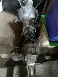 700r4 transmission and transfer case