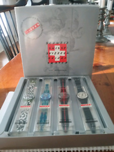 SWATCH COLLECTION OF 700 TH . ANIVERSARY SPEACIAL NUMBERED EDITI
