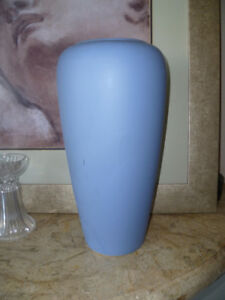 Vintage Large Bay Keramik West Germany Vase in blue