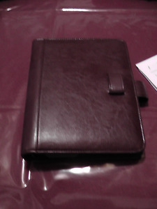 Leather Daily diary calendar type binder