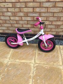 Girls Kettler Princess Balance Bike