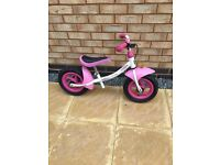 Girls Kettler Princess Balance Bike