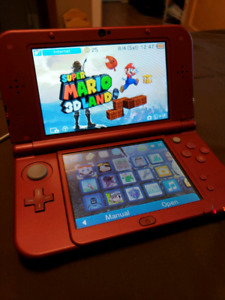 NEW 3DS XL. 10 GAMES INCLUDED. BARELY USED.