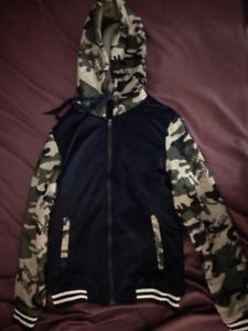 Deadpool Marvel Hooded Jacket - Size: Adult Small