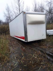 boîte de camion cube 26 pieds en aluminium