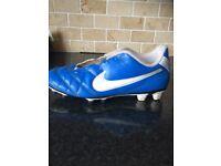 Nike Tiempo 1 blue leather UK 6