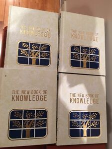 The new book of knowledge set