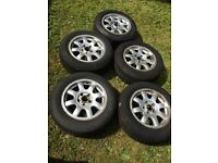 5 X Audi Speedline alloys/tyres