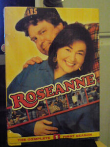 a brand new sealed season 1 dvd set of the tv series roseanne