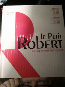 dictionaire robert 2017