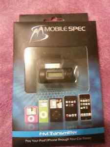 FM Transmitter for iPod / iPhone