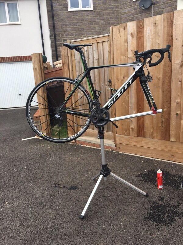 Road bike cleaning/maintenance stand   in Cullompton, Devon   Gumtree