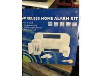 A brand new sealed complete wireless intruder alarm set up! Bargain! £20