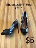 Women's shoes - size 7.5 - 8
