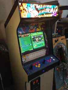645 in 1 MS PAC  FIGHTER SIMPSONS TMNT ARCADE MACHINE MAN CAVE