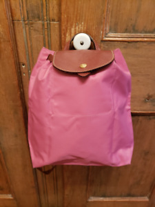 Sac à dos Longchamp Le Pliage rose