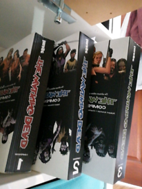 First three the Walking Dead compendiums