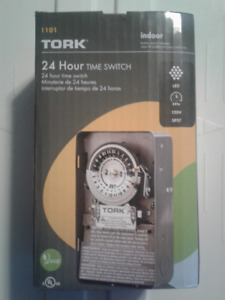 TORK 1101 Indoor 120V Electrical 24 Hour Timer