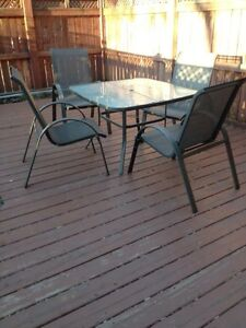 Ensembe patio- Patio set