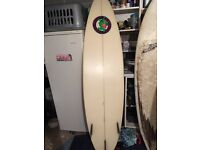 6'9 surf board Lee Barters original