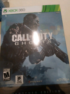 Brand New, Never Opened - Call of Duty Ghosts: Hardened Edition
