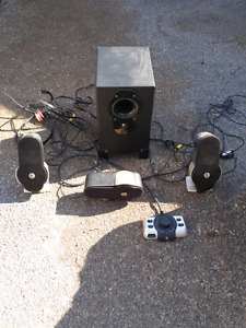 Surround sound computer speakers 50$