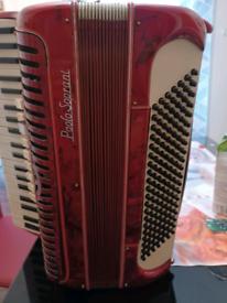 3x accordion Paulo soprani , hohner virtuola iii , parrot all 120bass
