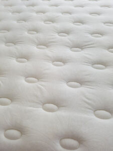 Queen size SIMMONS mattresses and heavy duty frame