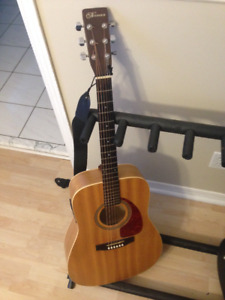 Norman Acoustic Guitar (Encore B20 with Fishman Pickup)