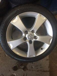 Mazda 3 Aluminum Wheel & Tire